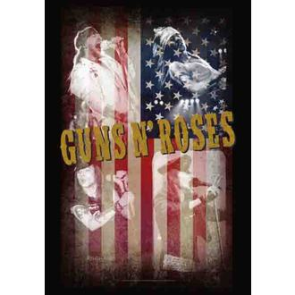 bandiera Guns N'Roses - Collage, HEART ROCK, Guns N' Roses