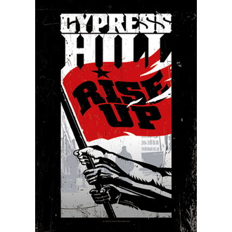bandiera Cypress Hill - Rise Up, HEART ROCK, Cypress Hill