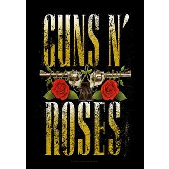 bandiera Guns N'Roses - Big Guns, HEART ROCK, Guns N' Roses