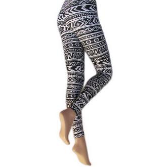 pantaloni donna (leggings) LEGWEAR - Azteco, LEGWEAR