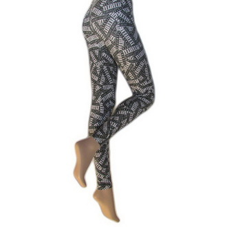 pantaloni donna (leggings) LEGWEAR - Parental Advisory, LEGWEAR