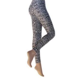 pantaloni donna (leggings) LEGWEAR - Zebra, LEGWEAR