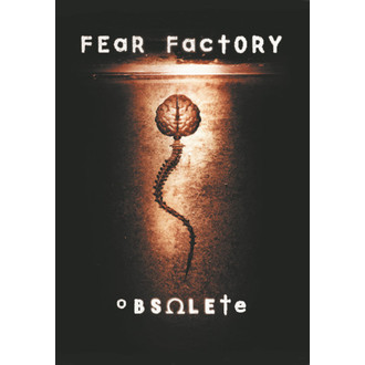 bandiera Fear Factory - Obsoleto, HEART ROCK, Fear Factory