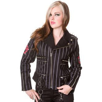 giacca primaverile / autunnale donna - Black - DEAD THREADS