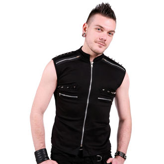 gilet uomo - Black - DEAD THREADS, DEAD THREADS
