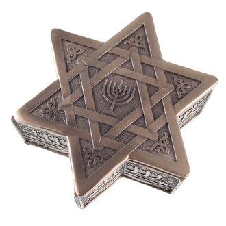 contenitore (accessori) Star of David & Menorah