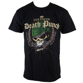 t-shirt metal uomo Five Finger Death Punch - Warhead - ROCK OFF, ROCK OFF, Five Finger Death Punch