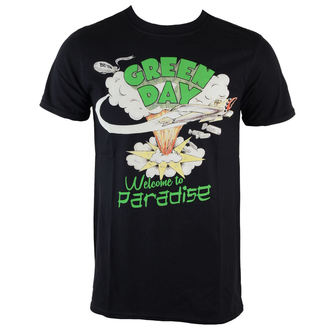 t-shirt metal uomo Green Day - Welcome To Paradise - ROCK OFF, ROCK OFF, Green Day