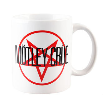 tazza Mötley Crüe - Urlo Attt The Devil Logo - ROCK OFF, ROCK OFF, Mötley Crüe
