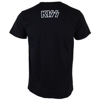 t-shirt metal uomo Kiss - Gene Face - LIVE NATION, LIVE NATION, Kiss