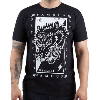 t-shirt street uomo - Wolf Money - FAMOUS STARS & STRAPS, FAMOUS STARS & STRAPS