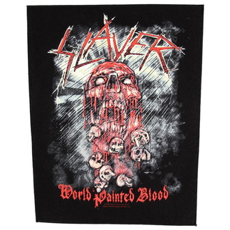 toppa grande Slayer - World Dipinto Blood - RAZAMATAZ, RAZAMATAZ, Slayer
