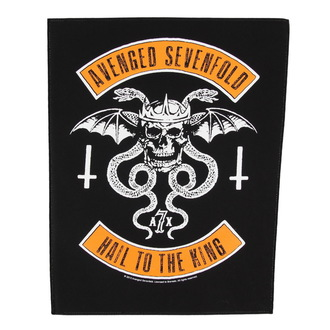 toppa grande Avenged Sevenfold - Biker - RAZAMATAZ, RAZAMATAZ, Avenged Sevenfold