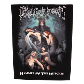 toppa grande Cradle of Filth - Hammer Of The Witches - RAZAMATAZ, RAZAMATAZ, Cradle of Filth