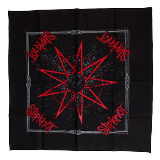 bandana Slipknot - Nine Appuntito Star - RAZAMATAZ - B042