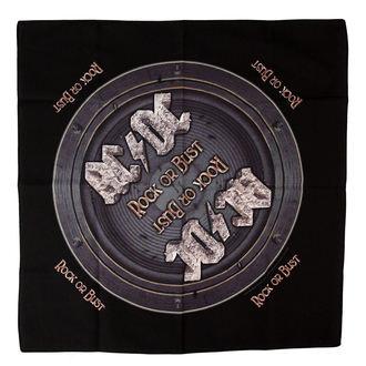 bandana AC / DC - Rock Orr Bust - RAZAMATAZ, RAZAMATAZ, AC-DC