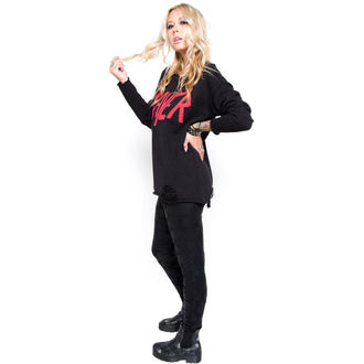 cardigan donna IRON FIST - Slayer Strappato, IRON FIST, Slayer