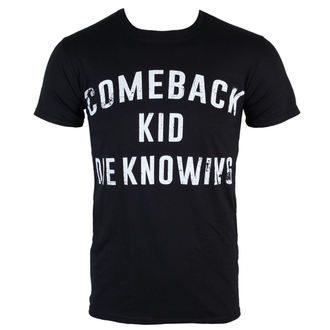 t-shirt metal uomo Comeback Kid - Die Knowing - KINGS ROAD, KINGS ROAD, Comeback Kid