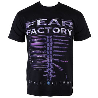 t-shirt metal uomo Fear Factory - Demanfacture - PLASTIC HEAD, PLASTIC HEAD, Fear Factory