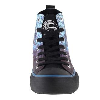 scarpe da ginnastica alte donna - Flaming Spine - SPIRAL, SPIRAL