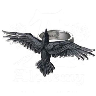 anello ALCHEMY GOTHIC - Peltro Ring, ALCHEMY GOTHIC