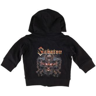 felpa con capuccio bambino Sabaton - Metalizer - Metal-Kids, Metal-Kids, Sabaton