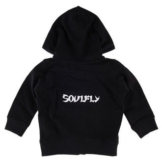 felpa con capuccio bambino Soulfly - Logo - Metal-Kids, Metal-Kids, Soulfly