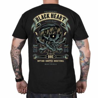 Maglietta da uomo BLACK HEART - Bandana BOY - NERO, BLACK HEART