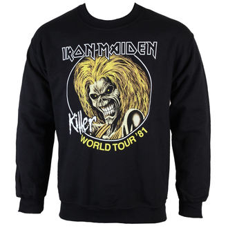 felpa senza cappuccio uomo Iron Maiden - Killers 81 - ROCK OFF, ROCK OFF, Iron Maiden