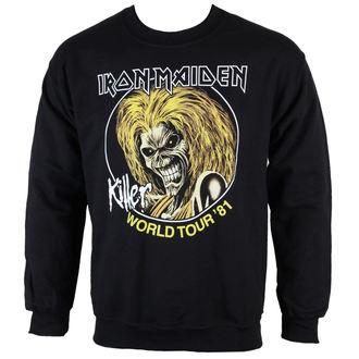 felpa senza cappuccio uomo Iron Maiden - Killers 81 - ROCK OFF, ROCK OFF, Iron Maiden