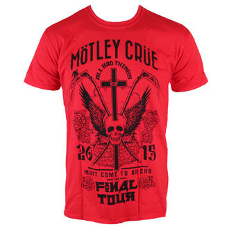 t-shirt metal uomo Mötley Crüe - Final Tour Tattoo - ROCK OFF, ROCK OFF, Mötley Crüe