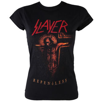 t-shirt metal donna Slayer - Repentless Crucifix - ROCK OFF, ROCK OFF, Slayer