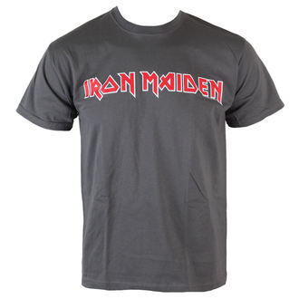 t-shirt metal uomo Iron Maiden - Classic Logo - ROCK OFF, ROCK OFF, Iron Maiden