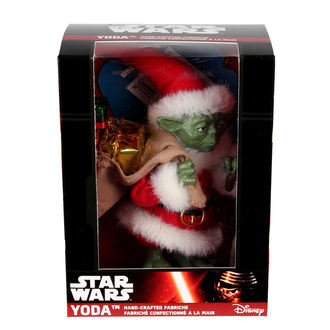 figure Star Wars - Yoda Babbo Claus, NNM