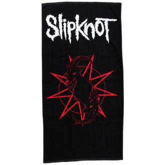 asciugamano (asciugamano) Slipknot - Distressed Logo - BRAVADO, BRAVADO, Slipknot