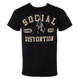 t-shirt metal uomo Social Distortion - Boxing Gloves - BRAVADO, BRAVADO, Social Distortion