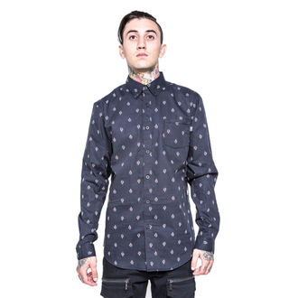 camicia uomo IRON FIST - GFY - Nero, IRON FIST