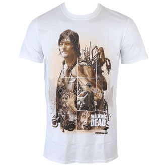 t-shirt film uomo The Walking Dead - Daryl Montage - INDIEGO, INDIEGO