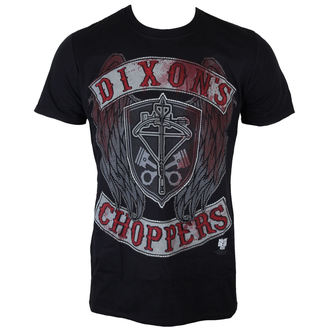 t-shirt film uomo The Walking Dead - Dixons Choppers - INDIEGO, INDIEGO