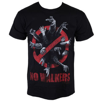 t-shirt film uomo The Walking Dead - No Walkers - INDIEGO, INDIEGO