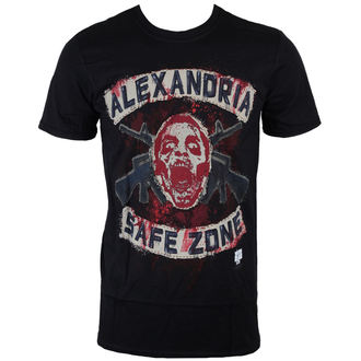 t-shirt film uomo The Walking Dead - Safe Zone - INDIEGO, INDIEGO
