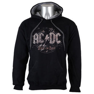 felpa con capuccio uomo AC-DC - Rock or Bust - LOW FREQUENCY, LOW FREQUENCY, AC-DC