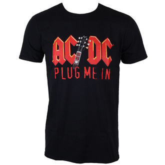 t-shirt metal uomo AC-DC - Plug me in with Angus Young - LOW FREQUENCY, LOW FREQUENCY, AC-DC