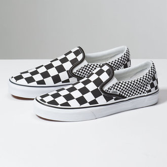 scarpe da ginnastica basse unisex - UA CLASSIC SLIP-ON (MIX CHECKER) - VANS, VANS