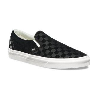 scarpe da ginnastica basse unisex - UA CLASSIC SLIP-ON (CHECKER EM) - VANS, VANS