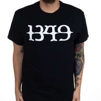 Maglietta da uomo 1349 - White Logo - Nero - INDIEMERCH, INDIEMERCH, 1349