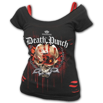 t-shirt metal donna Five Finger Death Punch - Five Finger Death Punch - SPIRAL, SPIRAL, Five Finger Death Punch