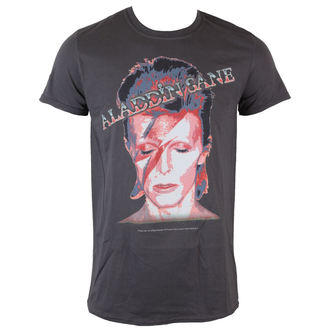 t-shirt metal uomo David Bowie - Aladdin Sane - ROCK OFF, ROCK OFF, David Bowie