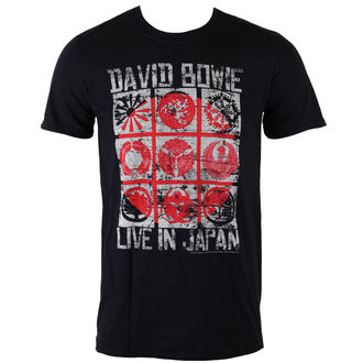 t-shirt metal uomo David Bowie - Live In Japan - ROCK OFF, ROCK OFF, David Bowie