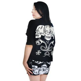 cardigan donna TOO FAST - alzata di spalle Cardigan - Barocco Skull